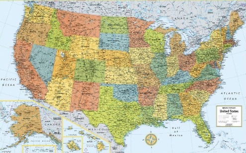 Rand-McNally-528961004-USA-Wall-Map